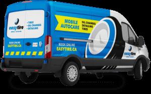 easytire mobile auto detailing truck